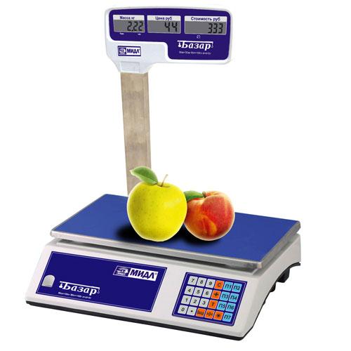 ОПИСАНИЕ: Весы торговые, электронные тензометрические для статического